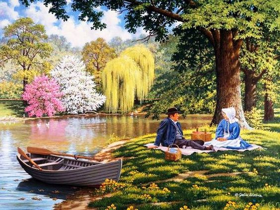 "John Sloane ""trip on the lake"""