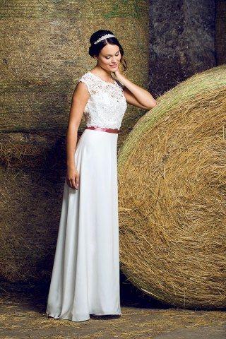 Brautkleid von Michèle Weiten Design über MARRYJim.com