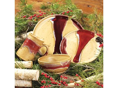 Red River Pottery Dinnerware