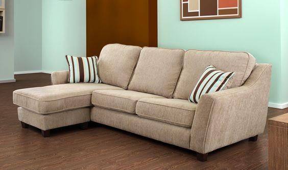 Capri Corner Sofa Beige Can Use As Left Or Right Hand ! | eBay