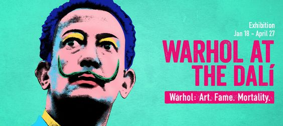 Warhol @ the Dali - Looking forward to seeing this exhibit soon.