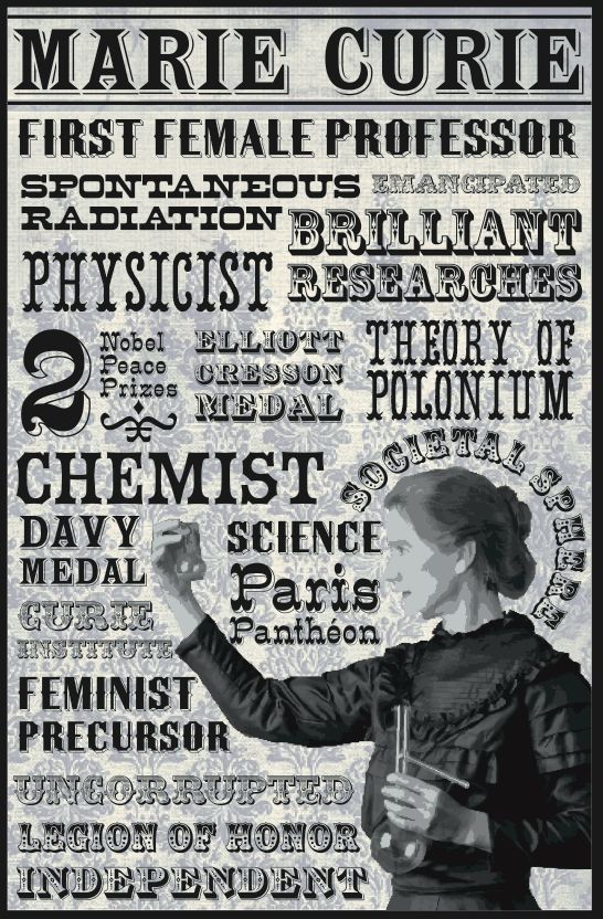Image result for marie curie nobel prize