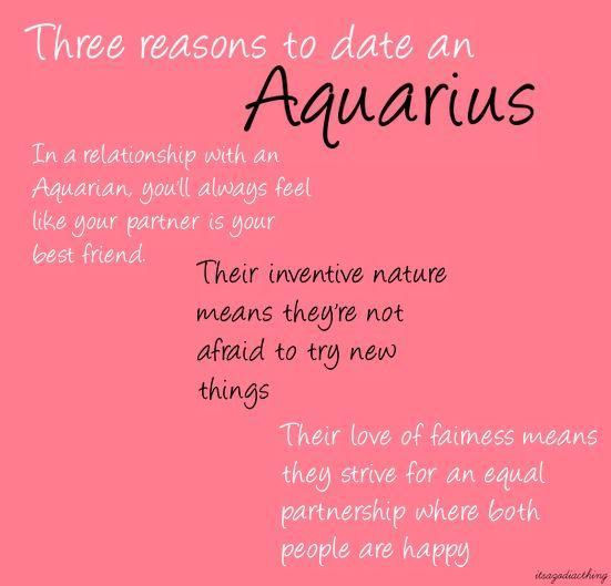 Dates for aquarius