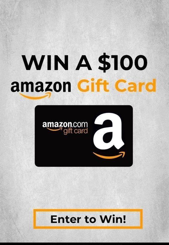 Win A 100 Amazon Gift Card Amazon Gift Card Free Amazon Gift Cards Google Play Gift Card