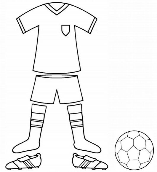 Top 6 Football Kit Colouring Pages For Kids Football Kits