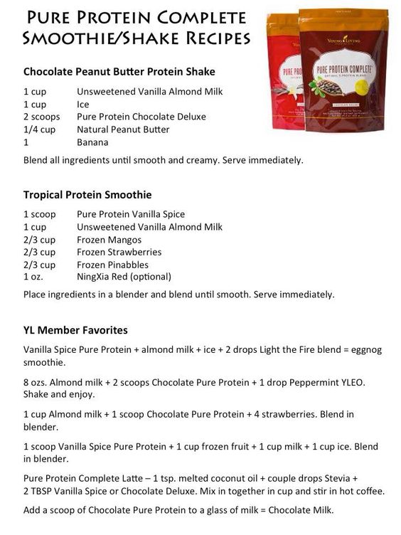 Pure Protein Complete is one of my favorite new Young Living products. #chocolatedeluxe #myYLlife #recipes
