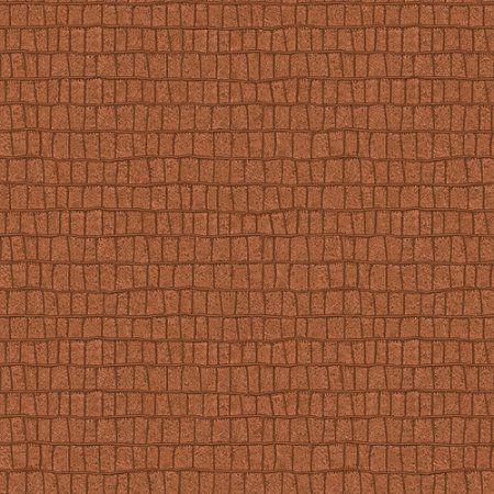 Blue Mountain Croc Wallcovering, Bourbon, Brown