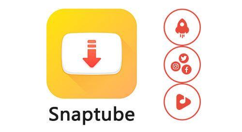 تحميل برنامج Snaptube سناب تيوب الاصفر لتحميل أي فيديو Video Downloader App Gaming Logos Mario Characters