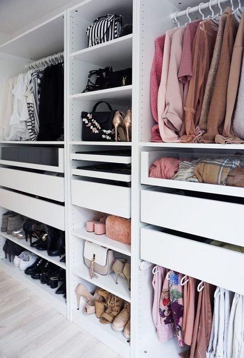 Find Out The Best Closet Organization Ideas For Women S Simdreamhomes Closetorgan Best Closet Organization Home Office Closet Apartment Closet Organization