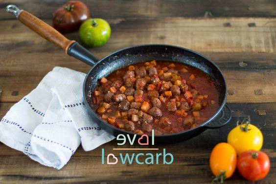Gemüsesugo mit Wurst