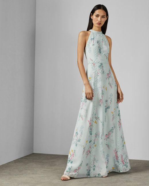 Sorbet Lace Maxi Dress Pale Green Dresses Ted Baker Uk Black Tie Wedding Guest Dress Designer Outfits Woman Maxi Dress Wedding
