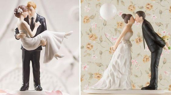 Süße Hochzeitstortenfiguren für eure Hochzeitstorte!