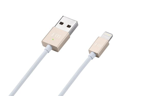 AluCable LED Nice #Lightning Charging #Cable for #iPhone and #iPad by J|M  http://www.just-mobile.eu/alucable-led-336.html