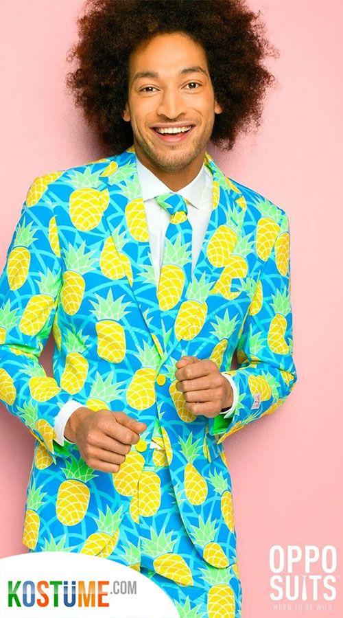 OppoSuits Shineapple Anzug | Modestil, Anzug, Party kostüme