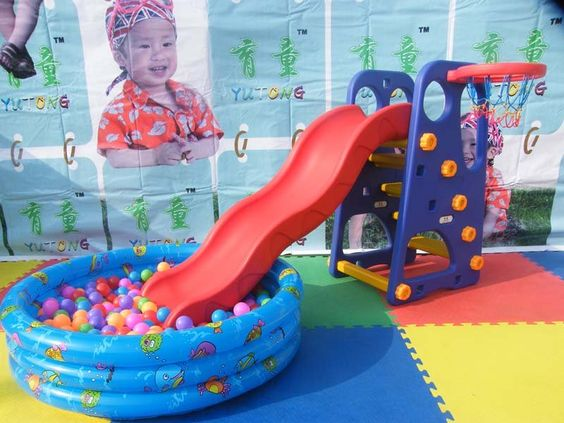 Slide picture more detailed picture about novelty kids for Indoor play slide