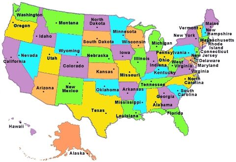 U.S States Map Game Us States Map Game the us 50 states printables map quiz game best