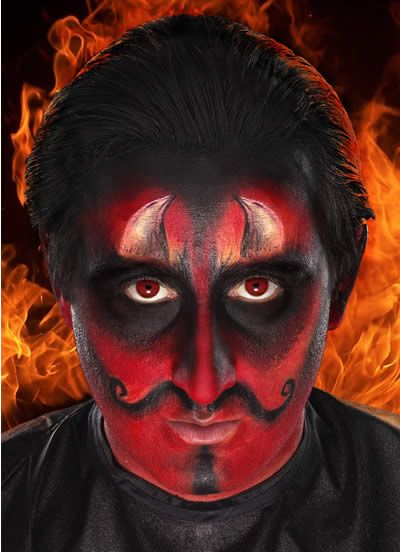 Demon Makeup For Men | www.imgkid.com - The Image Kid Has It!