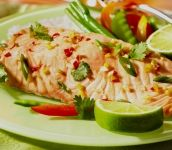 Oven Steamed Salmon with Chili and Ginger | I (HEART) Healthy Foods ...