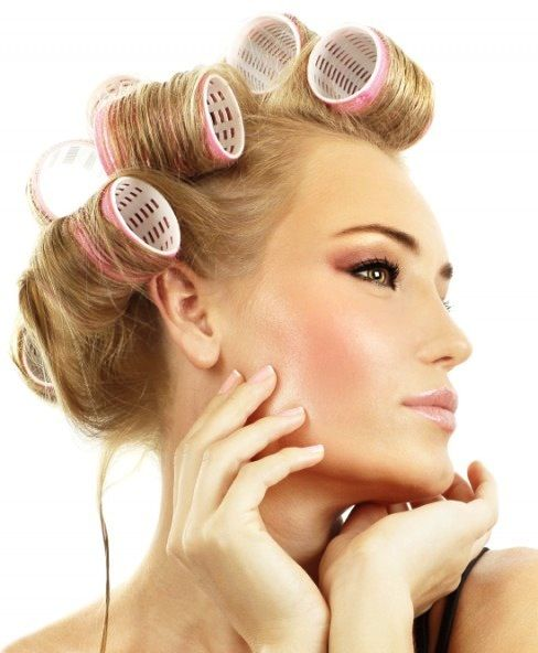 Would you go out in your rollers? Great for big bouncy curls... http://www.theretreatclinic.co.uk/treatment/hair-finishing/