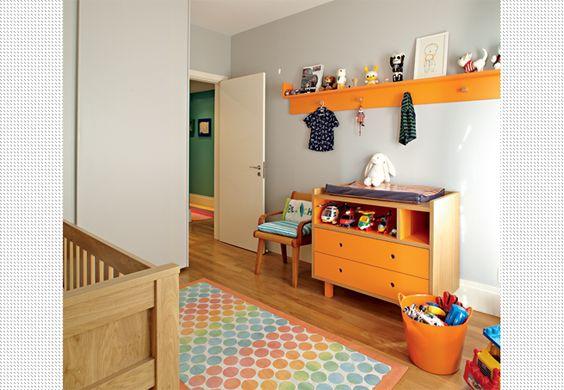 Fotos de detalhes decorativos para a sua casa - Casa e Jardim - GALERIA DE FOTOS - As cores da modacinza e laranja