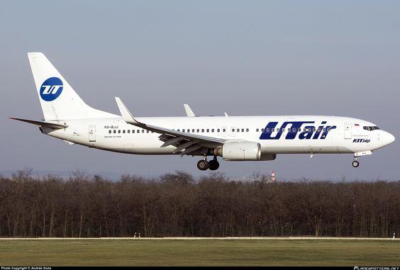 VQ-BJJ UTair Aviation Boeing 737-8AS(WL)