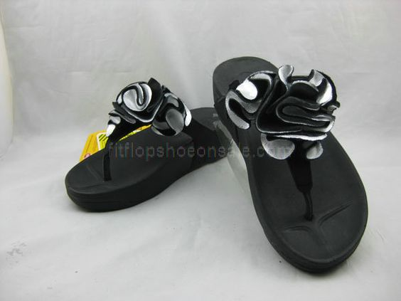 Womens Sandals Fitflop Frou Black Shoes : Cheap Fitflop Shoes UK ...