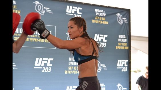 Jessica Eye hopes win at UFC 203 sparks title run  1 contender Bethe Correia at UFC 203 in Quicken Loans Arena Saturday night, Eye is hoping to right the course of her MMA career and get on track to a title shot of her own. #UFC203 http://rock.ly/soq8c