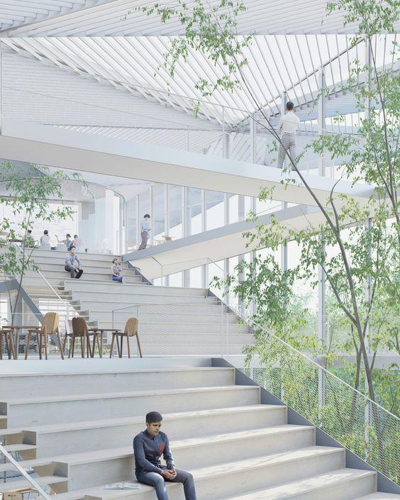 sou fujimoto to build new learning center at paris' ecole polytechnique