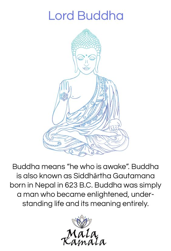 What does The Buddha mean? Who was Buddha? Where did he originate? What is Buddhism? The sigificance of the buddha. Spiritual Yoga Symbols and What They Mean.   Mala Kamala Mala Beads - Boho Malas, Mala Beads, Yoga Jewelry, Meditation Jewelry, Mala Necklaces and Bracelets, Mala Headpieces, Childrens Malas, Bohemian Jewelry and Baby Necklaces