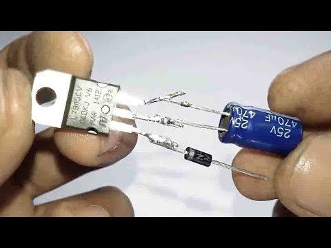 How To Make A Pocket Power Bank Using The L7805 Voltage