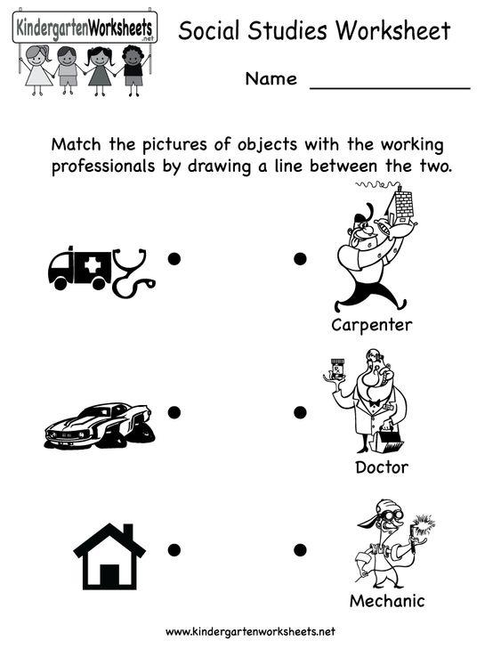 Common Worksheets » Social Worksheets - Preschool and Kindergarten ...