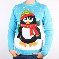 Tangled Penguin Ugly Chritmas Sweater