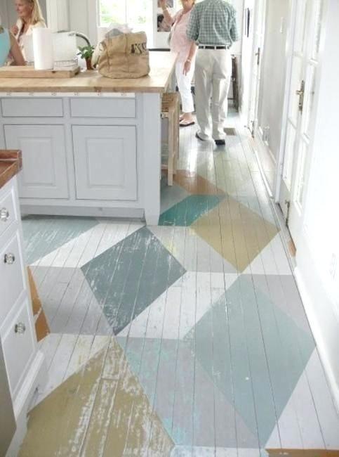 Distressed Painted Laminate Flooring Distressed Painted Floorboards Distressed Painted Concrete Floors Diy How To Paint Woo Flooring Home Painted Wooden Floors