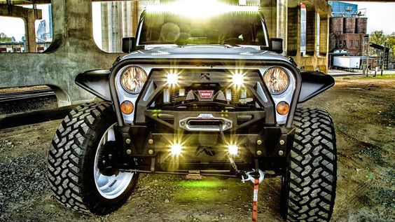 There's no better way to spend your day than enjoy the adventure with Jeep Wrangler! http://www.carid.com/off-road-lights.html