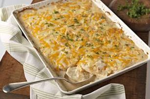 Savory Garlic Scalloped Potatoes recipe
