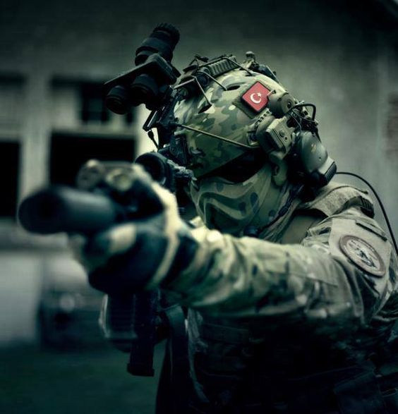 Turkish Special Forces....