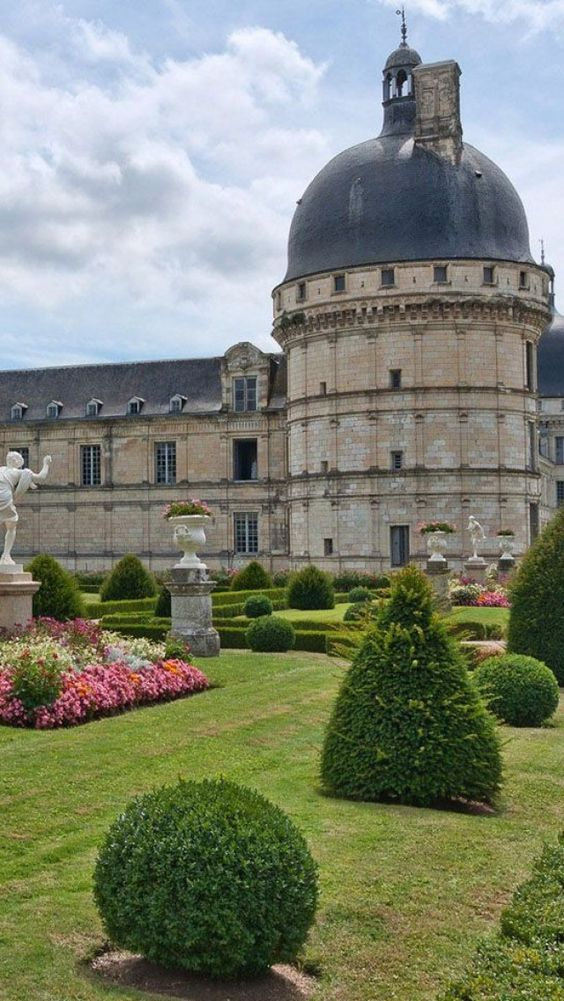 Chateau de Valencay,  Castelli della Loira