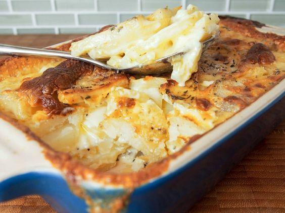 Easy recipe dauphinoise potatoes