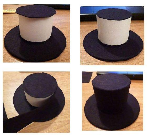 Un chapeau, un tuto ! Le mini haut de forme