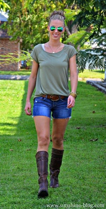 Ariat Sahara - Summer Cowboy Cowgirl Boots Outfit | My Pics ...