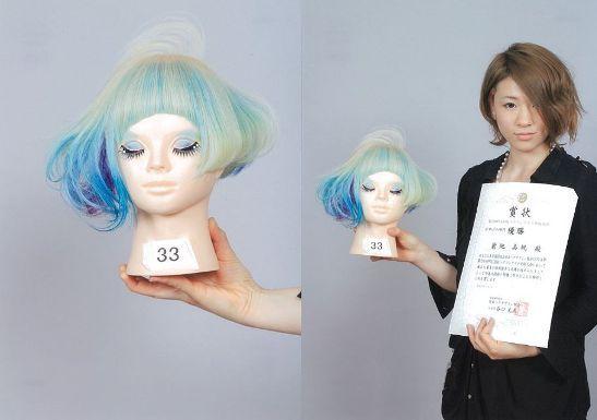 第26回nhdkヘアコンテスト全国大会で 当校学生が1位を受賞しました