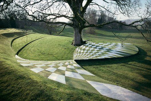 Black Hole Terrace C Charles Jencks The Garden Of Cosmic Speculation Outdoor Art Prestel 2015 Landschaftsdesign Landschaftsarchitekt Im Freien