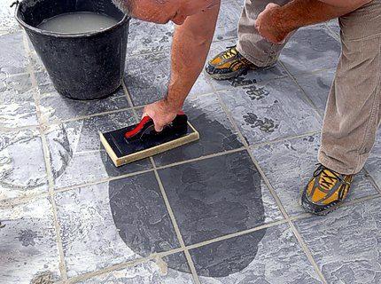 Как отмыть цемент. Полезный совет   Domosedkam.ru
