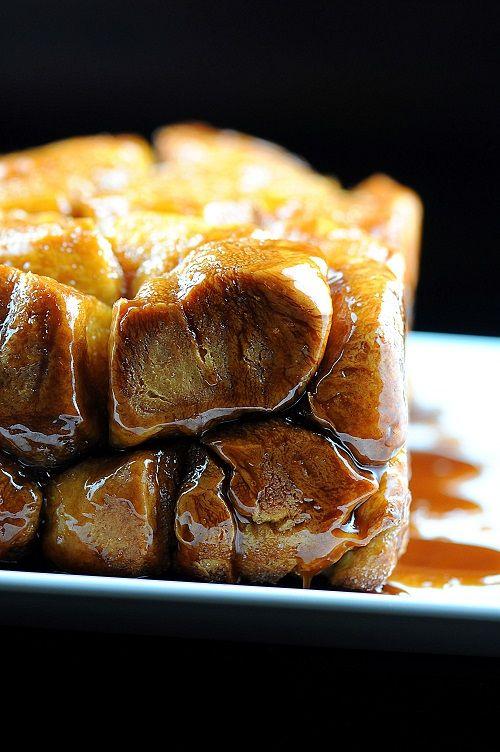 Pumpkin Brioche Whisky Caramel Monkey Bread | Recipe ...