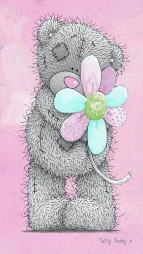 Tatty Teddy flower pink
