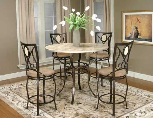 Traditional Nadia Dining Set -Puritan Furniture- CT.'s Largest Furniture Store- 5 Acres!
