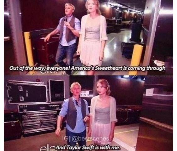 Aw I love Ellen.