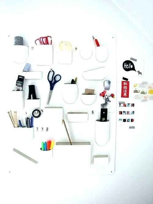Image Result For Ikea Wall Organizer Ikea Wall Wall Organization Desk Organization