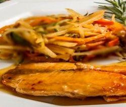 ensopado de peixe com legumes dukan