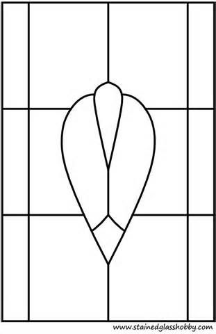 simple stained glass patterns free - Yahoo Image Search Results
